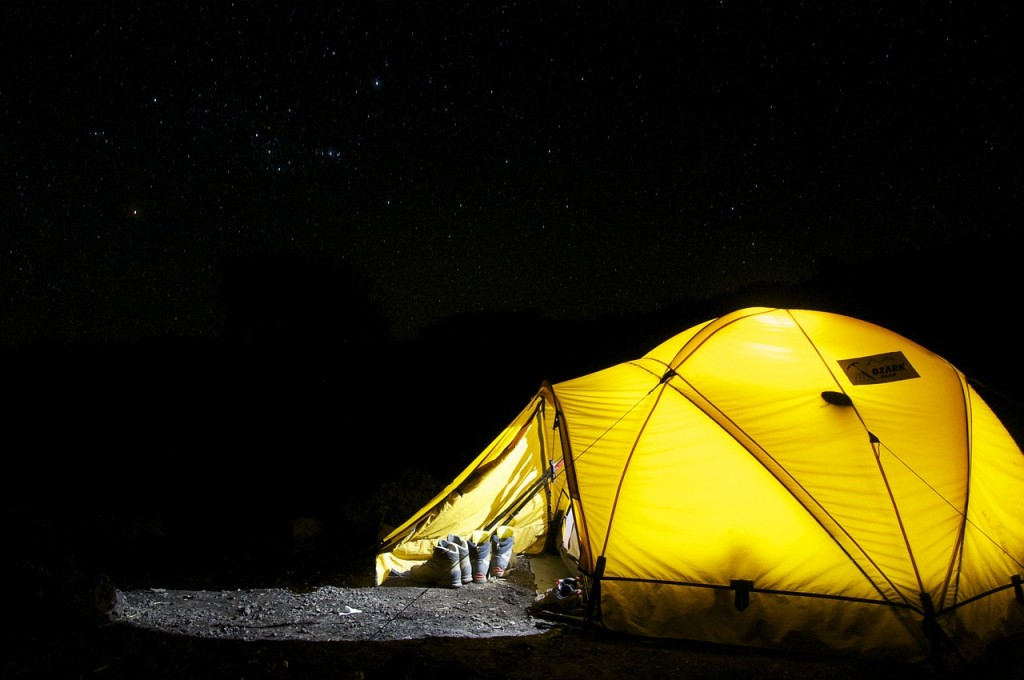 Top Camping Holiday Tips check your tent before you leave